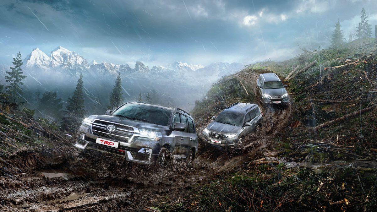 Новые внедорожники от Toyota