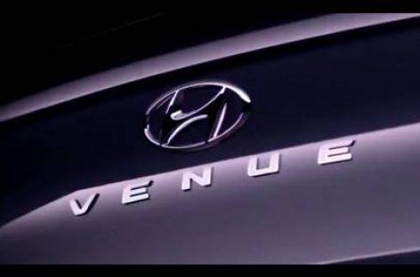 Новый кроссовер Hyundai Venue оказался компактнее Creta