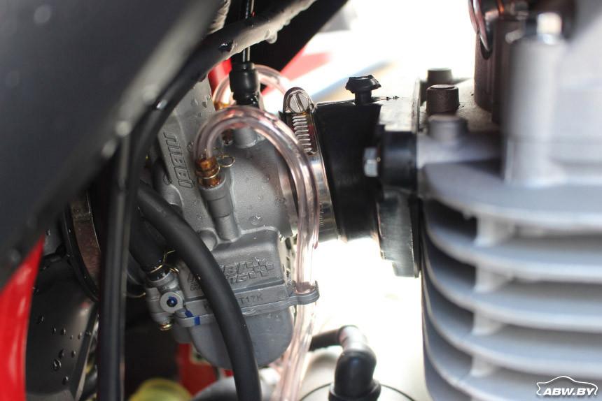 карбюраторный мотор Goose 400