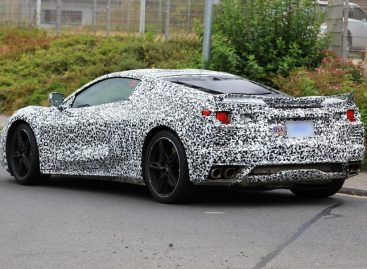 В сети появилась свежая информация о новом Chevrolet Corvette C8