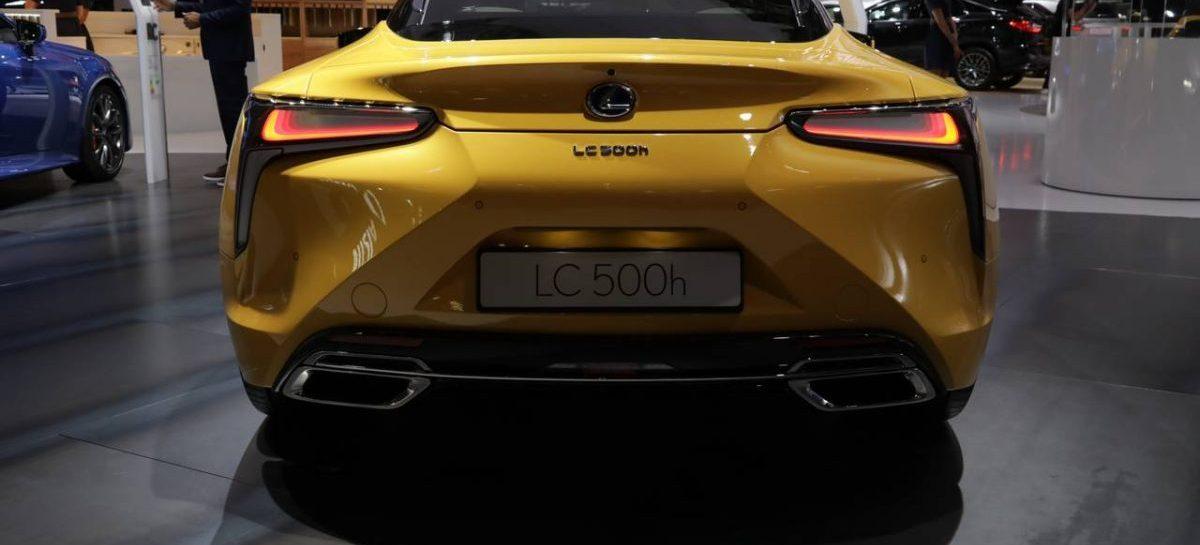 Lexus объявляет о старте продаж новой эксклюзивной версии купе LC Yellow Edition