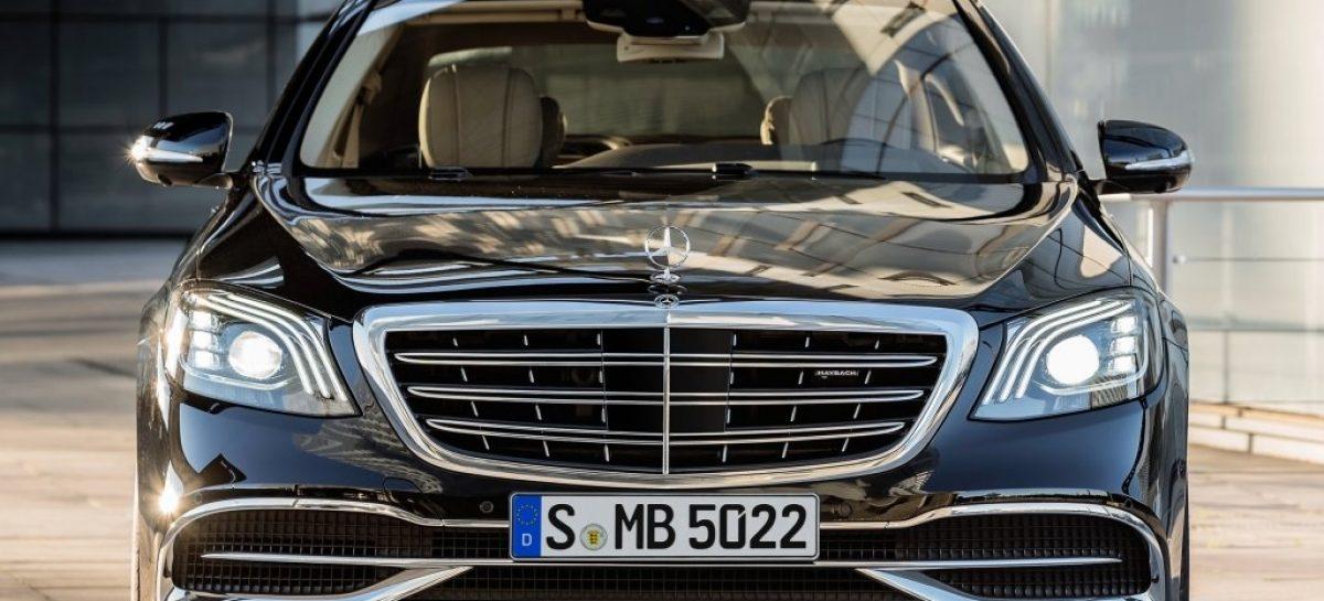 В сети появились фото нового Mercedes-Benz S-Klasse W223