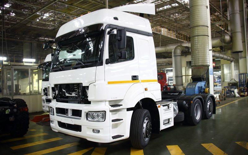 KAMAZ - самый продаваемый грузовой авто в Феврале