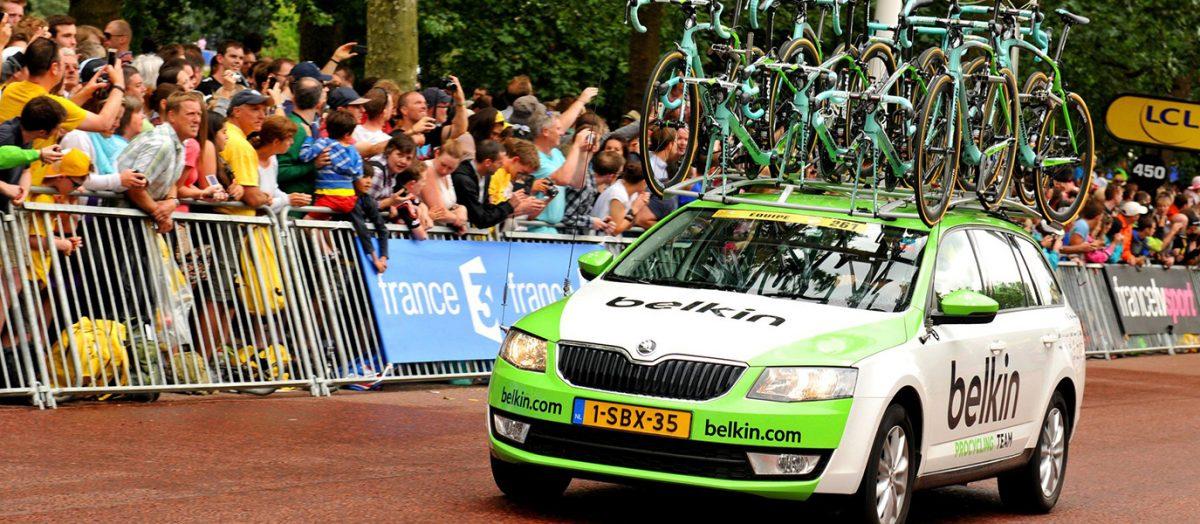 SKODA продлевает согласшение с Тур-де-Франс до 2023 года