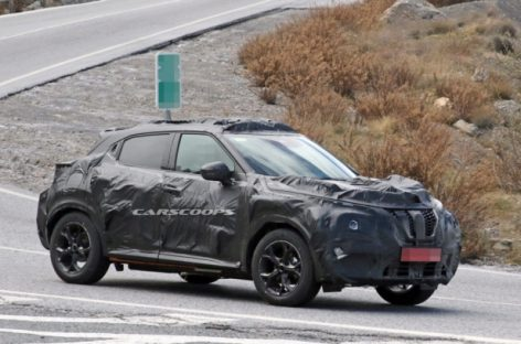 Nissan Juke 2 выехал на тесты в камуфляже