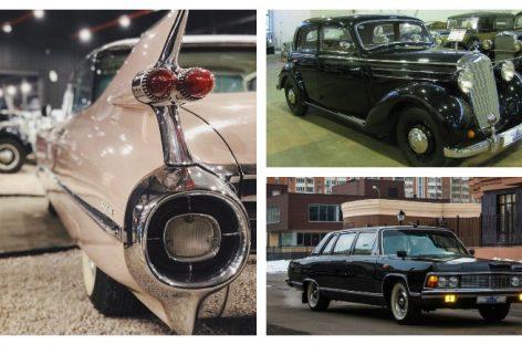 Новый автомобильный музей открыт в Москве
