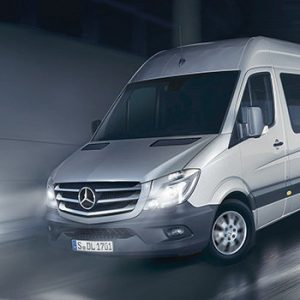 Новый Mercedes-Benz Sprinter - комфортные условия для работы водителя