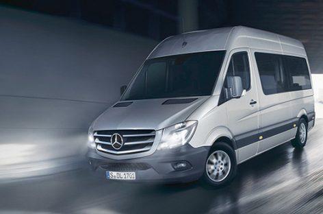 Новый Mercedes-Benz Sprinter – комфортные условия для работы водителя