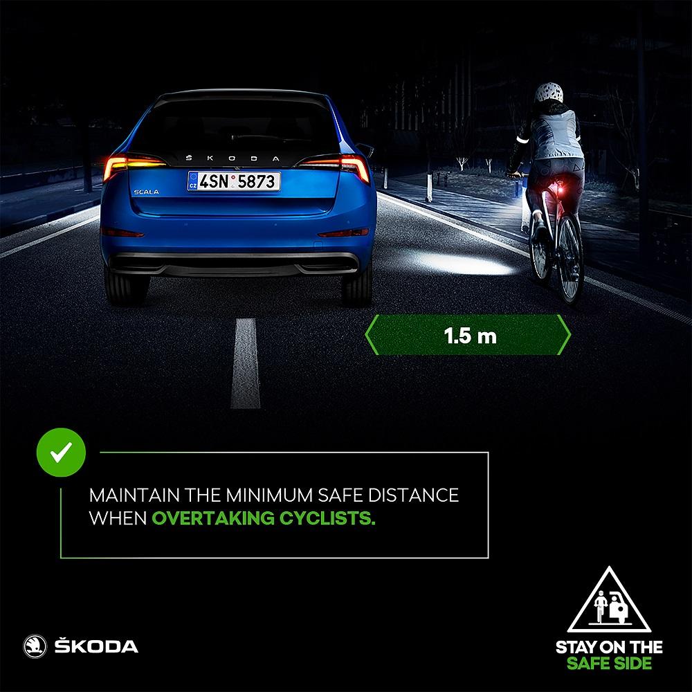 Кампания направленная на повышение уровня безопасности велосипедистов