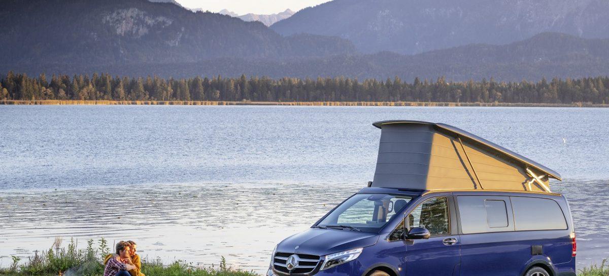 Обновленный Mercedes-Benz V-Класс приходит в Россию