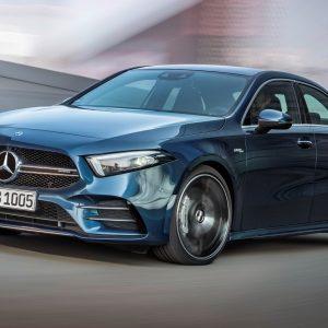 Новая модель Mercedes AMG - спортивный седан A 35 4Matic