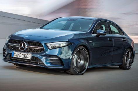 Новая модель Mercedes AMG – спортивный седан A 35 4Matic
