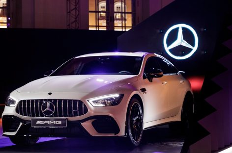 Закрытие сезона на Mercedes-Benz Fashion Week Russia