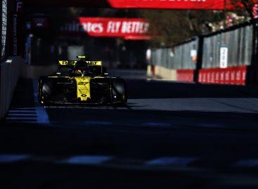 Renault F1 Team на Гран-при Азербайджана 2019
