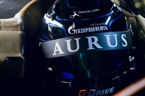 Aurus на гоночной трассе