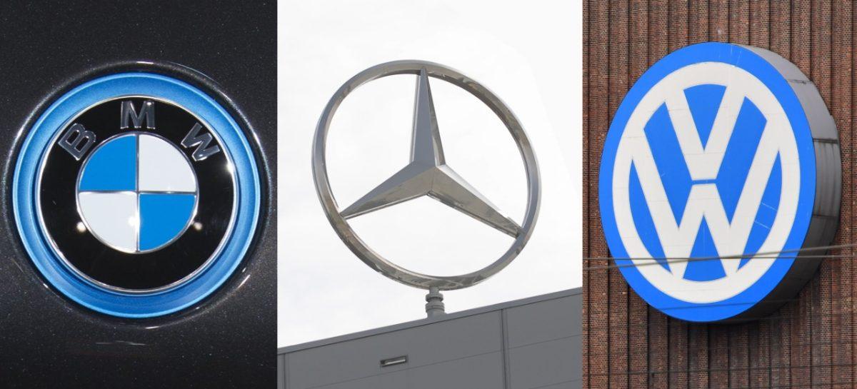 BMW, Daimler и Volkswagen уличены в сговоре