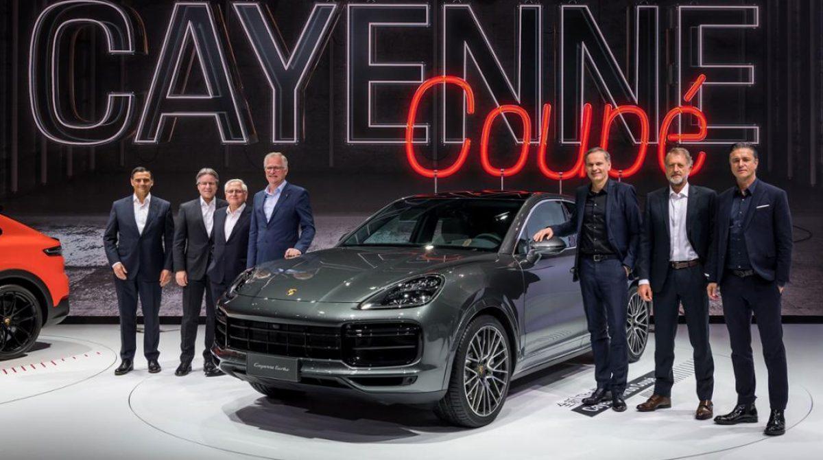 Азиатская премьера Cayenne Coupé