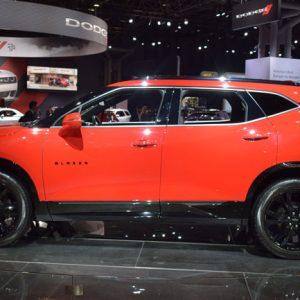 В Сети рассекретили интерьер нового Chevrolet Blazer