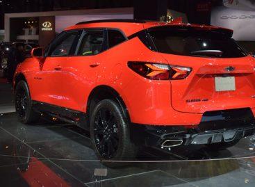 В Нью-Йорке прошла премьера нового Chevrolet Blazer 2020