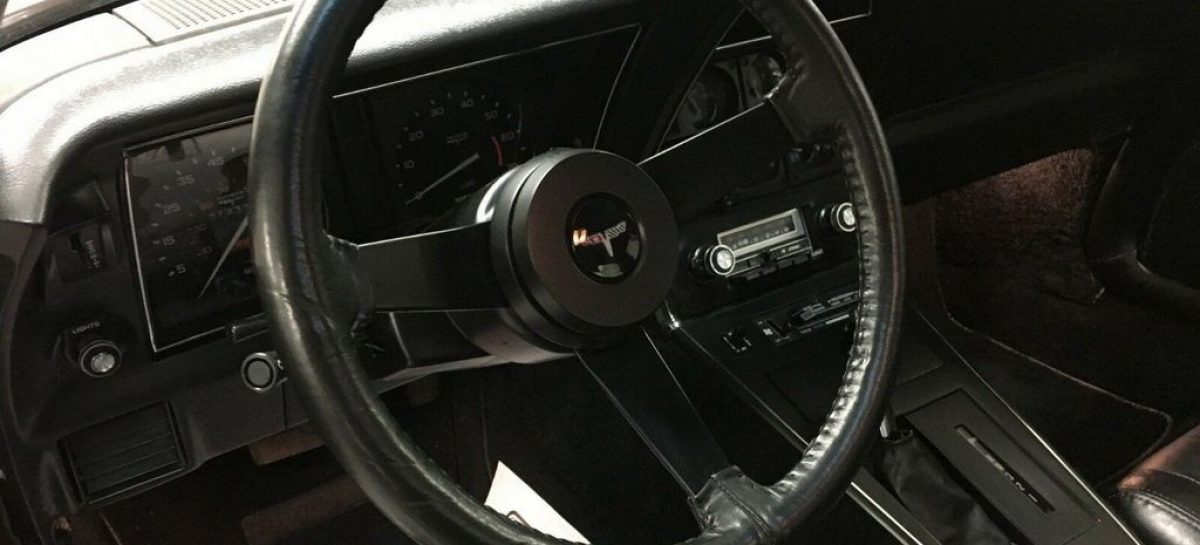 Chevrolet Corvette С3 L-82 1980 года продают на аукционе