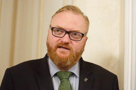 Милонов заявил об избиении на парковке в Петербурге