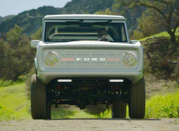 Первый в мире электрический внедорожник Ford Bronco