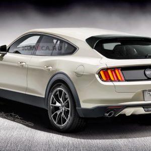 В Сети представлены рендеры кроссовера с дизайном от Ford Mustang