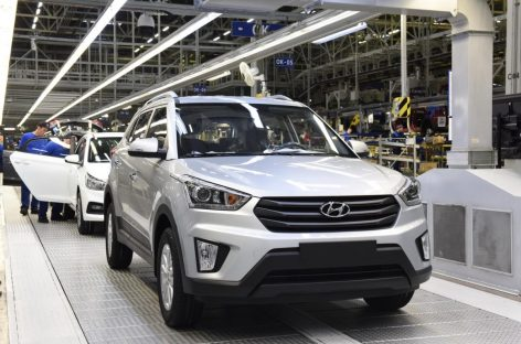 Завод Hyundai в России продемонстрировал рост объема производства