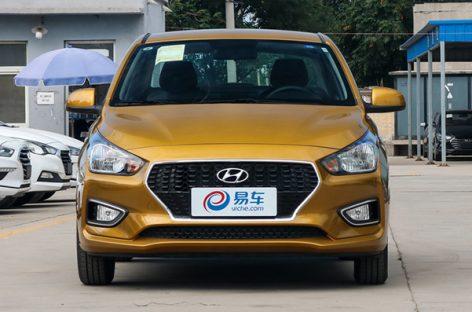 Удешевленный седан Hyundai Solaris вышел за пределы Китая