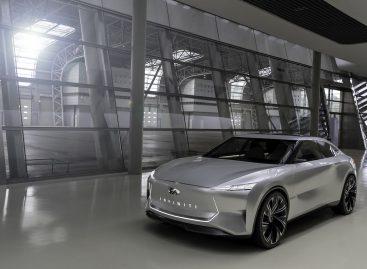Infiniti Qs Inspiration: спортивный седан эпохи электрификации