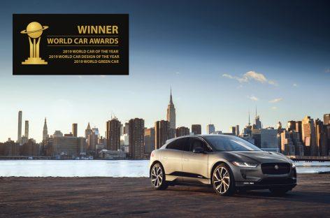 Jaguar I-PACE получил сразу три награды премии World Car Awards 2019