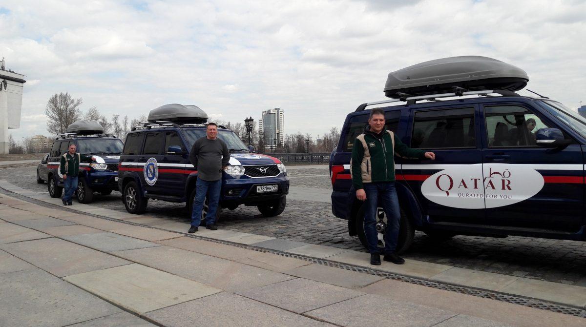 УАЗ Патриот примет участие в автопробеге Москва-Катар, посвященном ВОВ