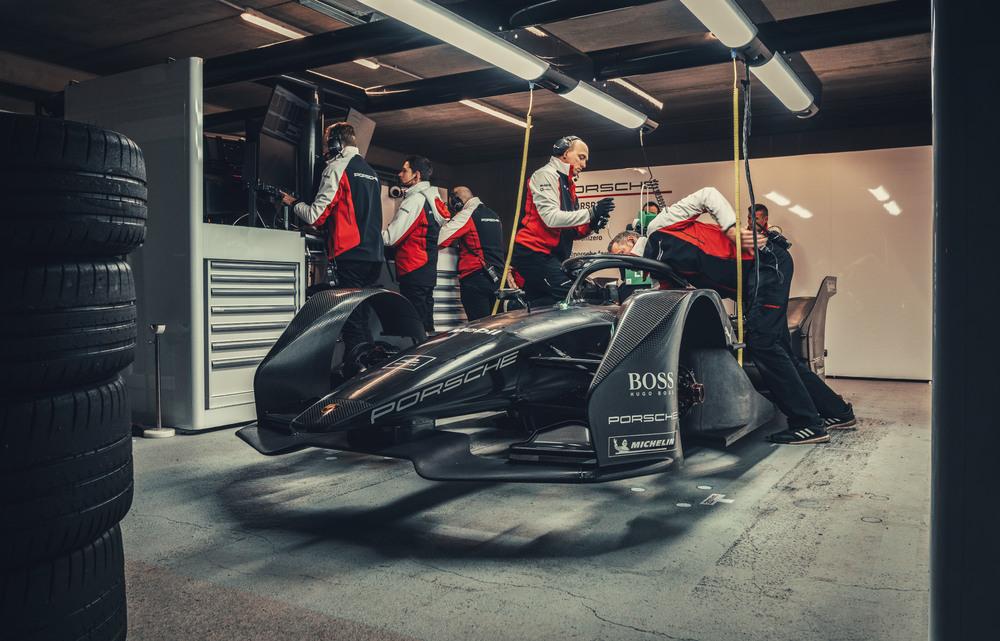 Porsche на чемпионате ABB FIA Формулы Е