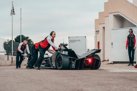 Porsche Motorsport: в Испании продолжаетcя подготовка к Формула E