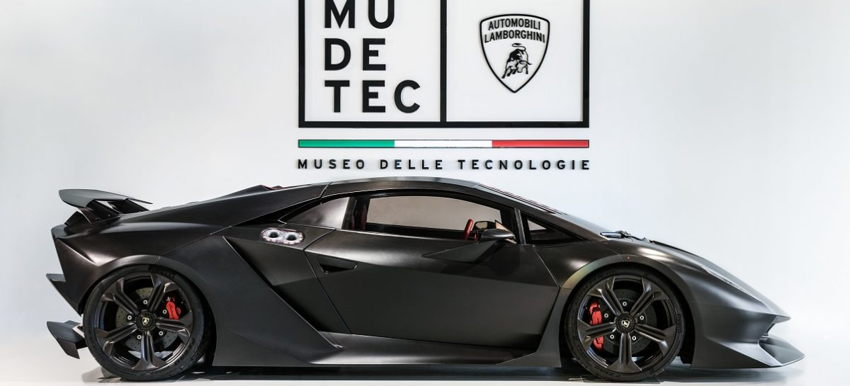 Новый Музей технологий Lamborghini: MUDETEC