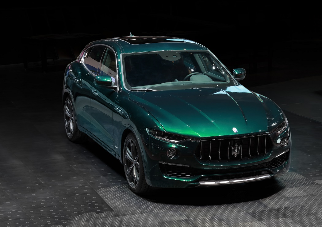 Maserati Levante ONE OF ONE Allegra Antinori @ Milan Design Week 2019