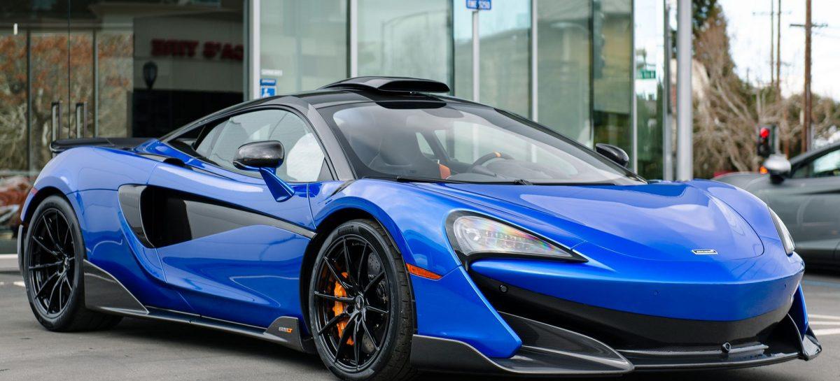 McLaren представил уникальный 600LT в Сан-Франциско