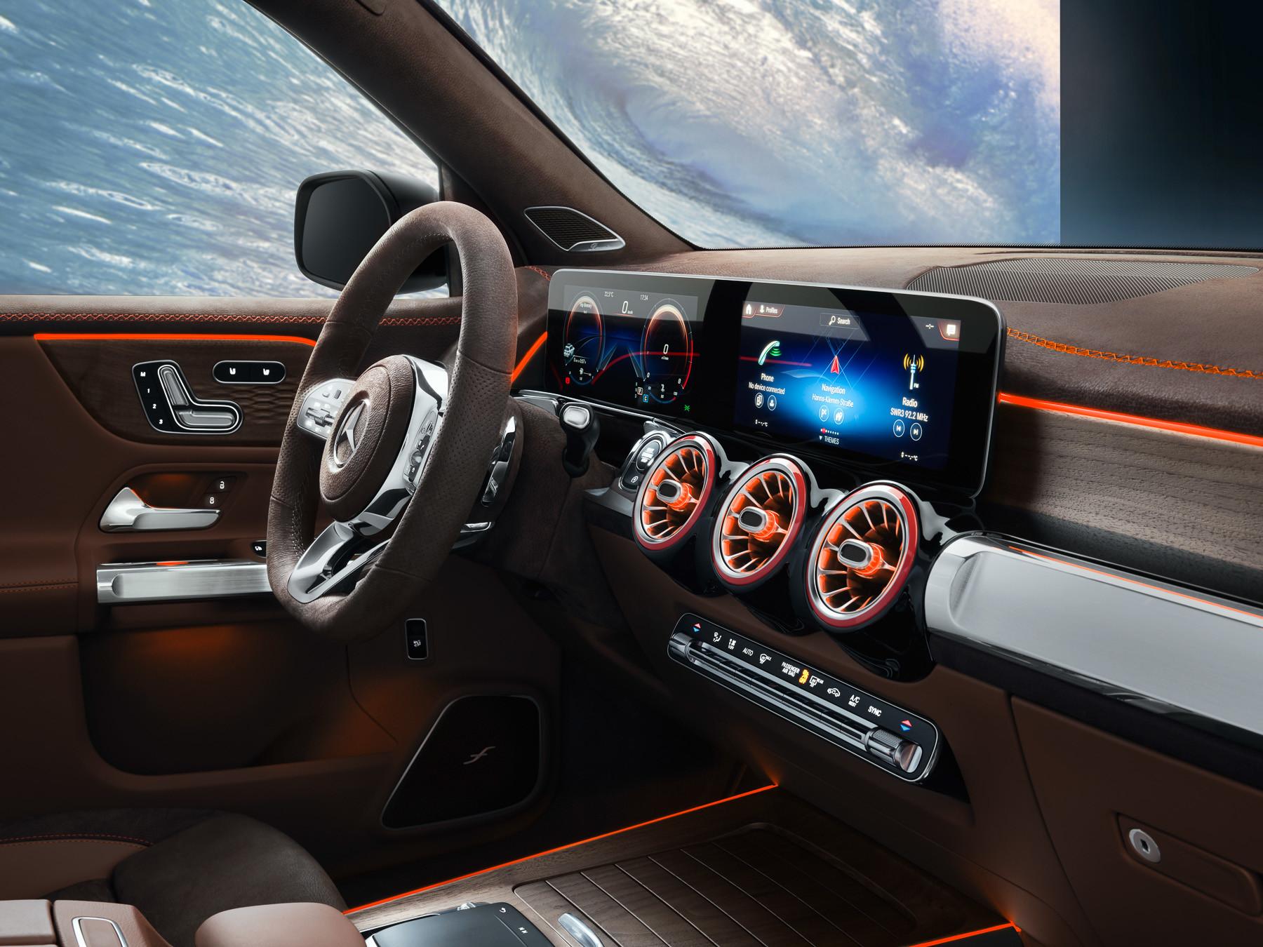Mercedes-Benz GLB панель 2