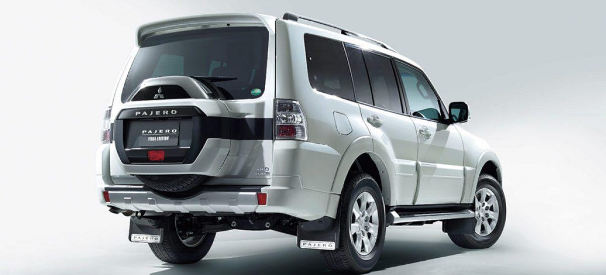 Из России уходит Mitsubishi Pajero