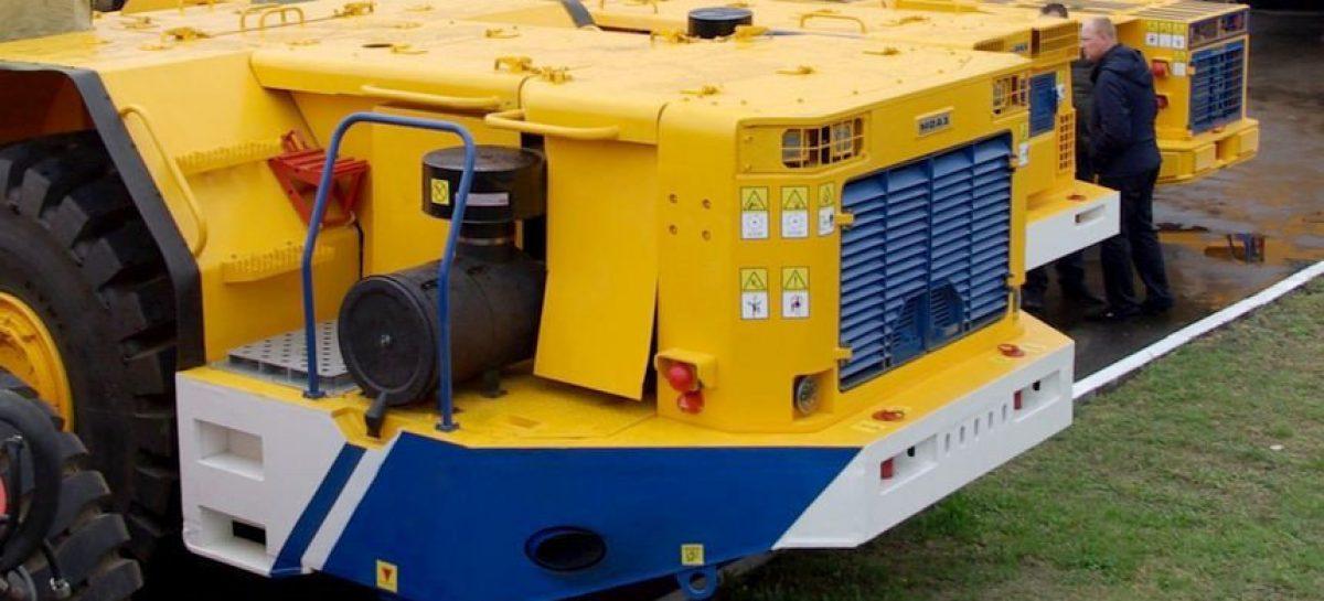 БЕЛАЗ разработал две мощные машины для подземных работ