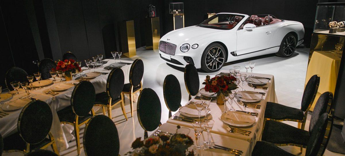 GALA NIGHT в честь празднования 100-летнего юбилея Bentley