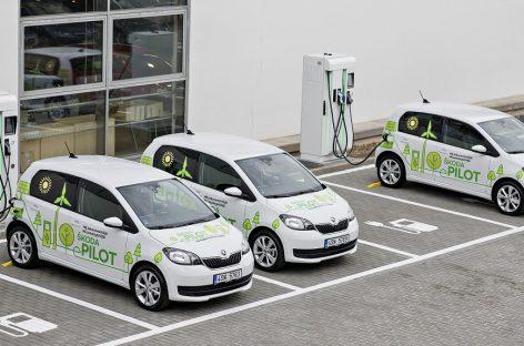Škoda запускает тестирование электромобилей в Чехии