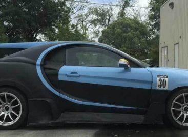 Любитель Bugatti апгрейдил свой Hyundai под легендарный автомобиль