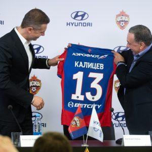 «Хендэ Мотор СНГ» и ПФК ЦСКА подписали спонсорское соглашение