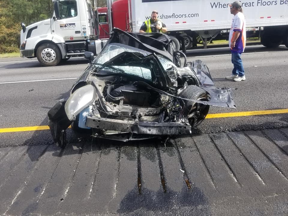 Toyota MR2 2001 года выпуска после аварии