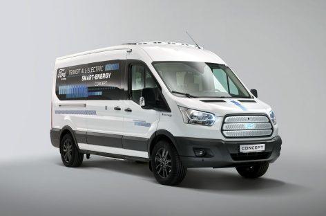Инновационный концепт Ford Transit Smart Energy