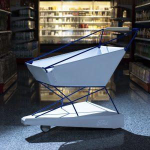 Ford разработал продуктовую тележку для супермаркетов