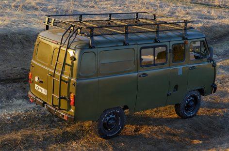 Модель УАЗ «Буханка» Трофи поступит в продажу 1 мая