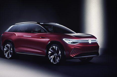 Volkswagen представил в Шанхае ID. ROOMZZ – новую модель семейства
