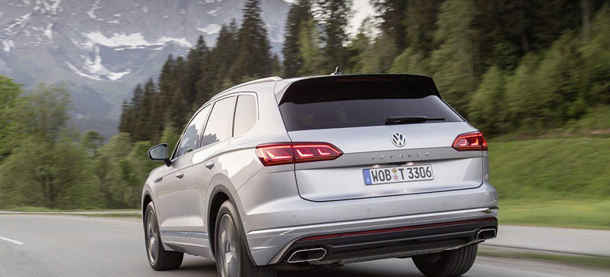Volkswagen представляет Touareg Exclusive